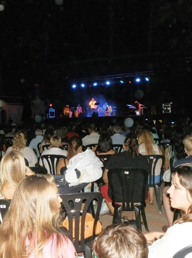 Memorable concierto de Parrita en el parque El Majuelo de Almuñécar