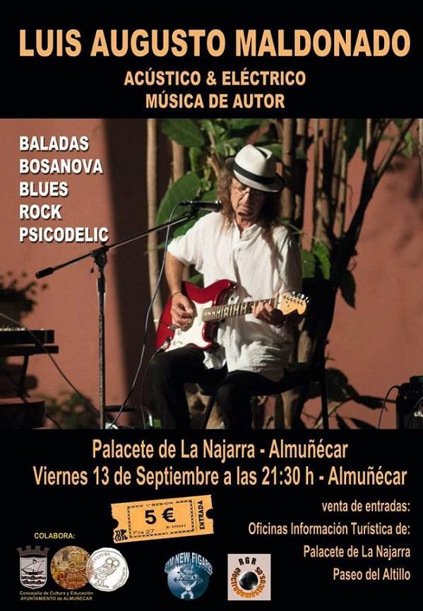 Música de autor y performance en los Jardines del Palacete La Najarra