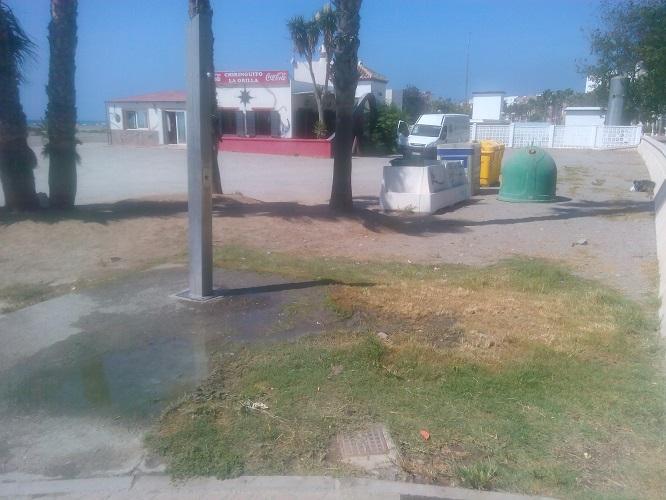 El Grupo Municipal Andalucista de Motril alerta de la falta de mantenimiento de las duchas de las Playas Motrileñas