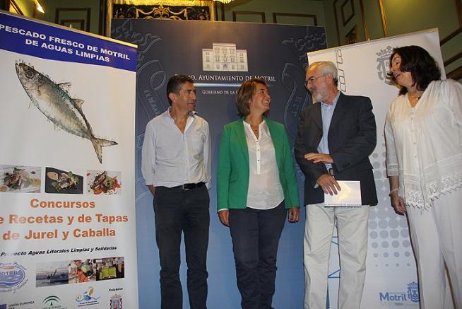 Un concurso gastronómico promocionará la calidad del pescado de Motril y las buenas prácticas de sus pescadores
