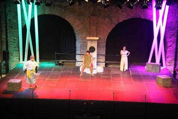 """La obra teatral """"El Eunuco"""" colgará este sábado  el cartel de no hay entradas en el  VII Festival de Teatro Grecolatino de Almuñécar"""