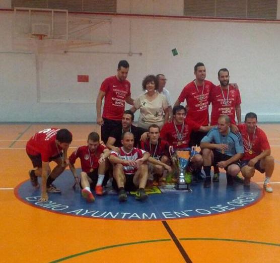 La Roja vence en el IX Torneo de Fútbol Sala de las Culturas de Órgiva