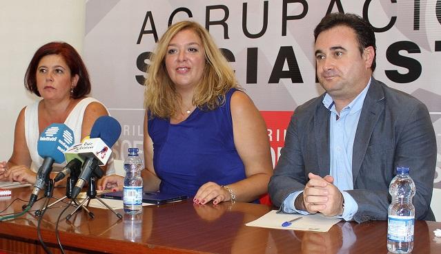 El PSOE urge al PP a que aparque la confrontación y reclame al Gobierno la ejecución de las conducciones de Rules