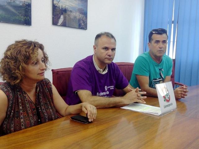 """""""Una calle mejor es tu elección"""" por Convergencia Andaluza Motril"""