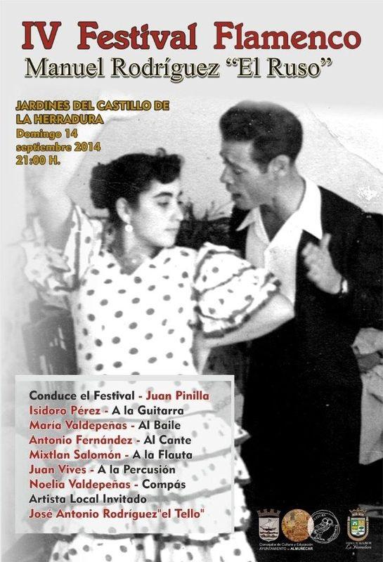 """El castillo de La Herradura acoge este domingo el Festival Flamenco homenaje al desaparecido cantaor local, Manuel Rodríguez """"El Ruso"""""""