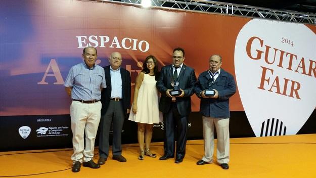 El Certamen Internacional Andrés Segovia, premiado en Guitar Fair
