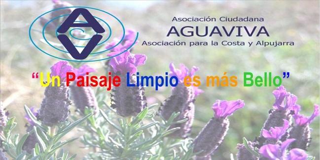 """La Asociación AGUAVIVA presenta el proyecto """"Un paisaje limpio y más bello""""."""