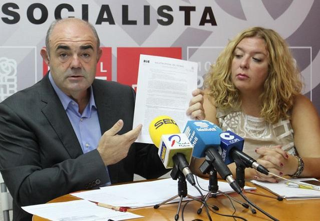El PSOE denuncia que la alcaldesa de Motril y el subdelegado están poniendo en riesgo cientos de empleos por no saber defender la línea con Melilla