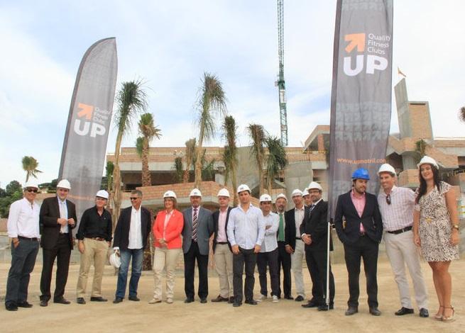 Las obras del centro deportivo 'Up Motril ya superan el ecuador