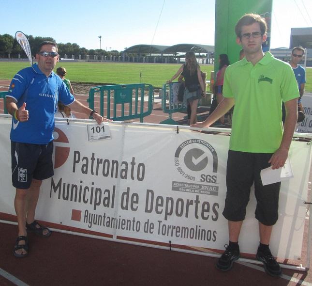 El Club Atletismo Almuñécar en la feria de San Miguel de Torremolinos