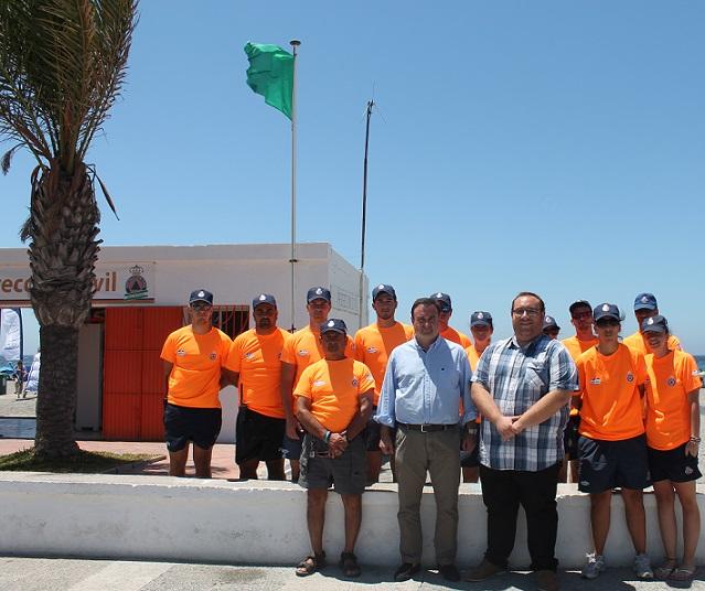 El cuerpo de Protección Civil de Salobreña ha atendido un total de 2558 incidencias  en las playas
