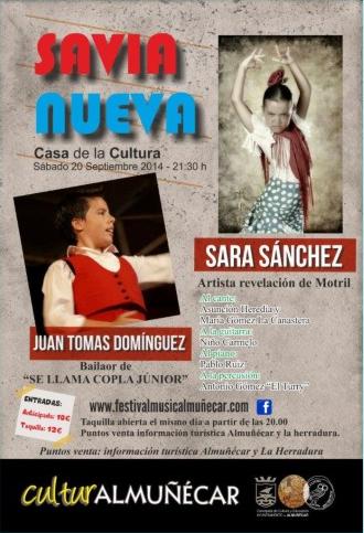 Savia Nueva se presenta esta noche en Almuñécar