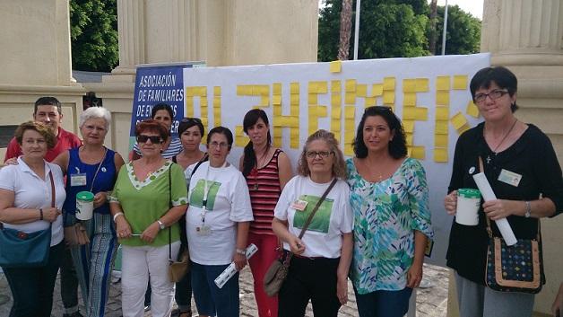 Afavida arrancó con gran acogida  los actos del Día Mundial del Alzheimer