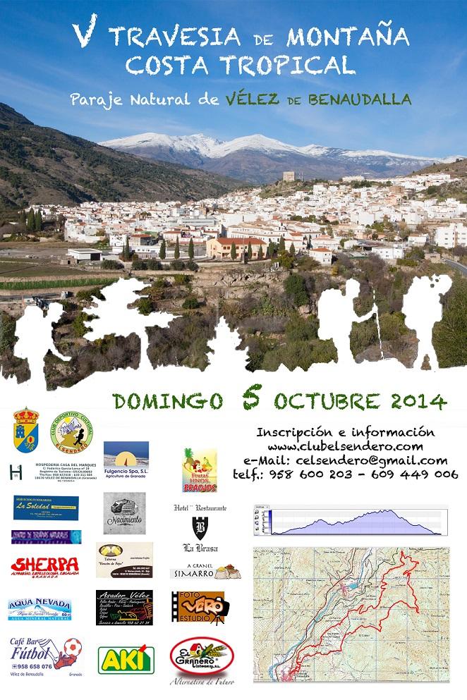 V Travesía de Montaña Costa Tropical organizado por el Club Deportivo Cultural El sendero