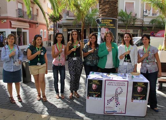 Motril se suma a la celebración del Día Mundial de Alzheimer