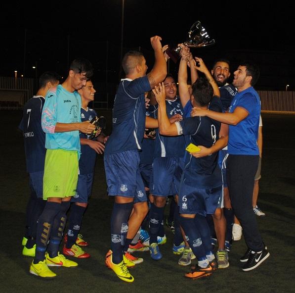 El Puerto de Motril CF logra el título de la Supercopa de la Federación Granadina de Fútbol