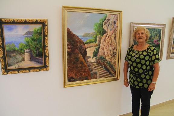 El Centro Cívico de La Herradura acoge una exposición de pintura