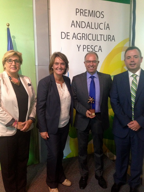 'La Palma' recibe el premio Andalucía Agricultura y Pesca en reconocimiento a su trayectoria empresarial
