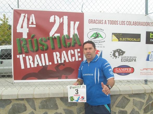 EL CLUB ATLETISMO ALMUÑÉCAR EN LA 4ª RÚSTICA TRAIL RACE DE HUÉTOR TÁJAR