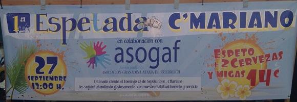 Chiringuito sexitano Casa Marino celebra este sábado una espetada a beneficio de ASOGAF