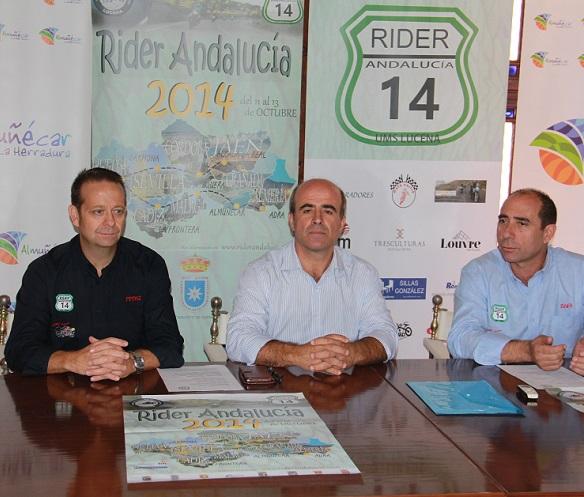 Almuñécar será etapa referente de la ruta motociclista Rider Andalucia 2014