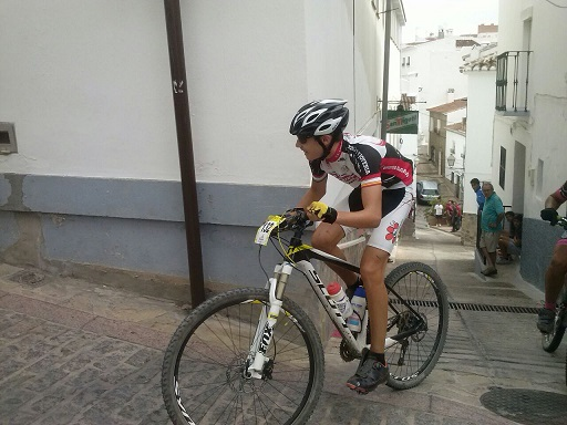 El ciclista herradureño Iván Ruiz Martin se proclama subcampeón en el Circuito Provincial de Granada BTT