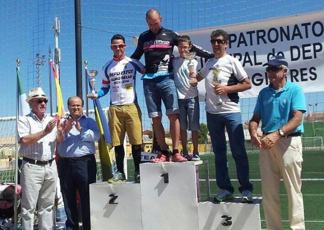 Pablo Fornes segundo en  la localidad almeriense de Turillas  en la categoría  máster 30