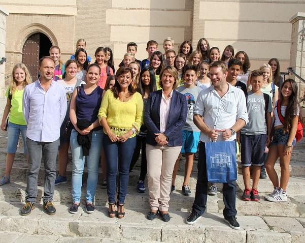 Una treintena de alumnos alemanes visitan Motril durante dos semanas