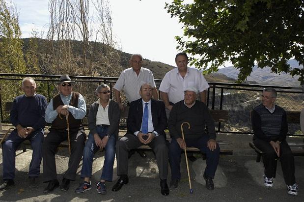 Diputación aborda en Bérchules trabajos para declaración de La Alpujarra patrimonio mundial