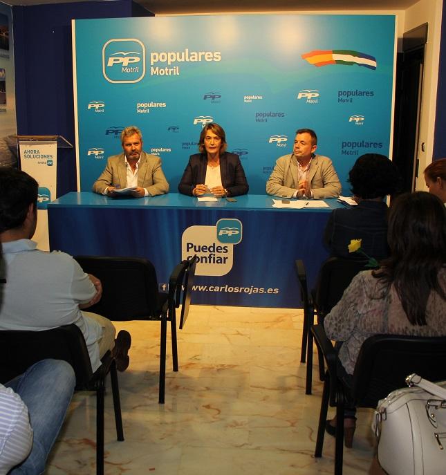 PP-Motril conforma su comité electoral para los comicios municipales de mayo de 2015