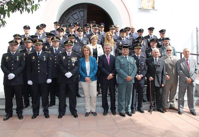 La Policía Nacional de Motril celebra el día de los Ángeles Custodios