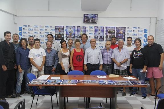 El PMD de Almuñécar firma convenios con los clubes locales para desarrollar las Escuelas Deportivas Municipales