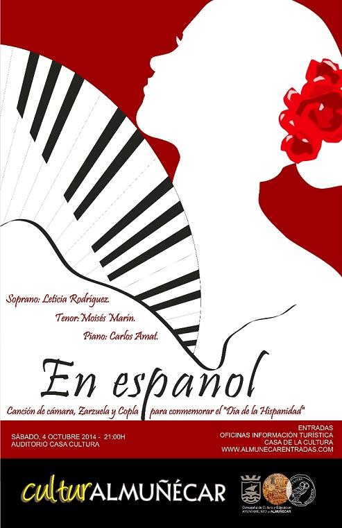 La Canción Española llega este sábado a la Casa de la Cultura de Almuñécar