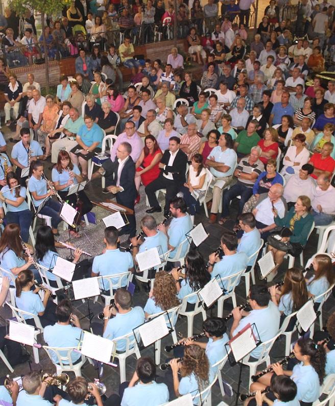 Certamen de Bandas de Música en la Villa de Salobreña
