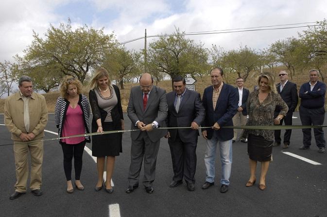 Diputación inaugura las obras de la carretera provincial GR-5202 de Murtas