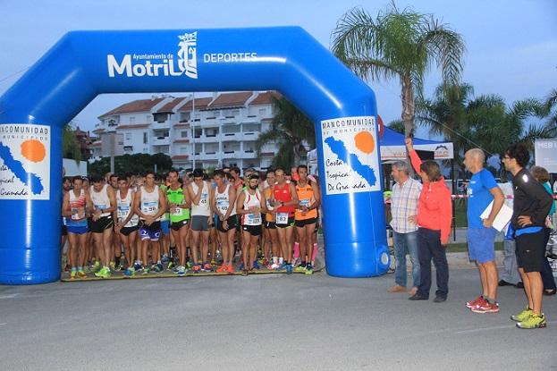 La I carrera nocturna Robinson Playa Granada supera todas las expectativas de participación