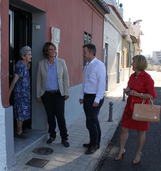 El Ayuntamiento mejora la calle camino de las Ventillas en el Cerrillo