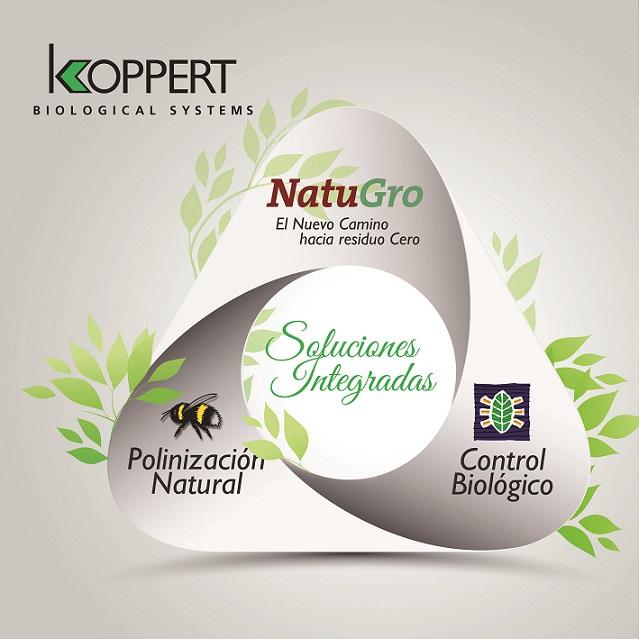 """El sistema Natugro de Koppert se convierte en la mejor opción """"todo en uno"""" para gestionar el control biológico de plagas y enfermedades"""
