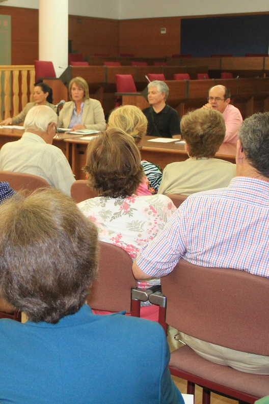 El Aula Permanente de Formación Abierta de la UGR vuelve al salón de plenos del Ayuntamiento de Motril