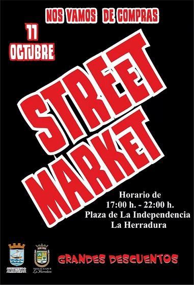"""La Herradura anima su comercio local con la celebración de un """"Street Market"""""""
