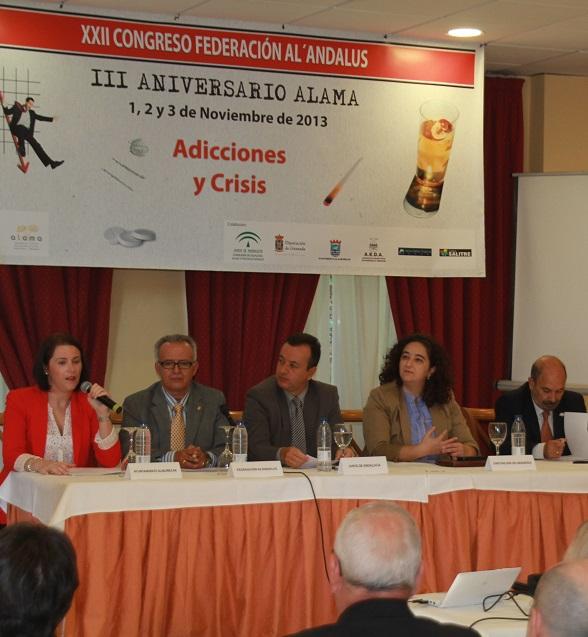 Almuñécar acoge el Congreso de la Federación de Prevención y Tratamiento de Alcohólicos y otras Adiciones de Andalucía
