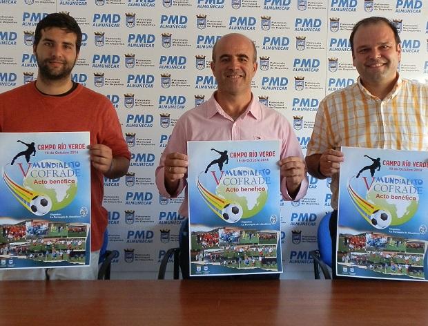 El V Mundialito Cofrade de fútbol 7 de Almuñécar se celebrará el próximo día 19