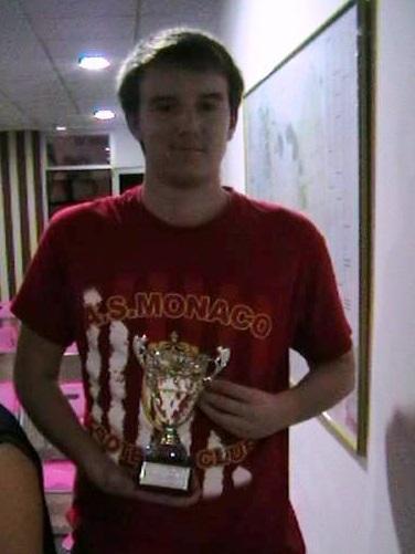 Ángel Luís Castillo Rodríguez ganador del 25 TORNEO CERRADO DE AJEDREZ