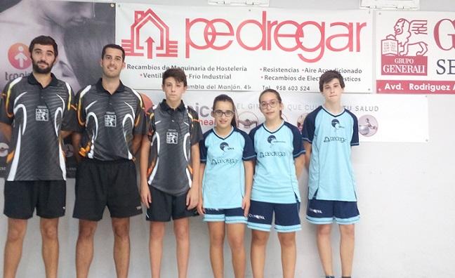 CR Pedregar se hizo con el triunfo en División de Honor de Tenis de Mesa