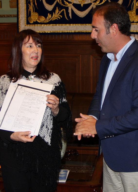 La vicepresidenta de la Casa de San Juan en Buenos Aires visita Motril