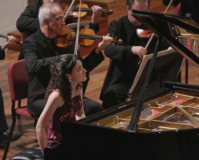 Noelia Fernández Rodiles abre la temporada de conciertos de Juventudes Musicales Motril