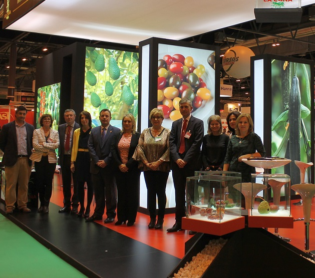 El Ayuntamiento apoya al sector agrícola en la 'Fruit Attraction' 2014