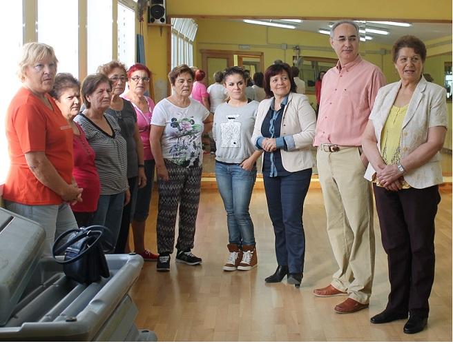 Los mayores de Salobreña inician el programa de mayores programado por Bienestar Social