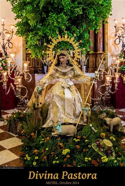 El barrio de Capuchinos celebra este fin de semana las fiestas en honor a la Divina Pastora