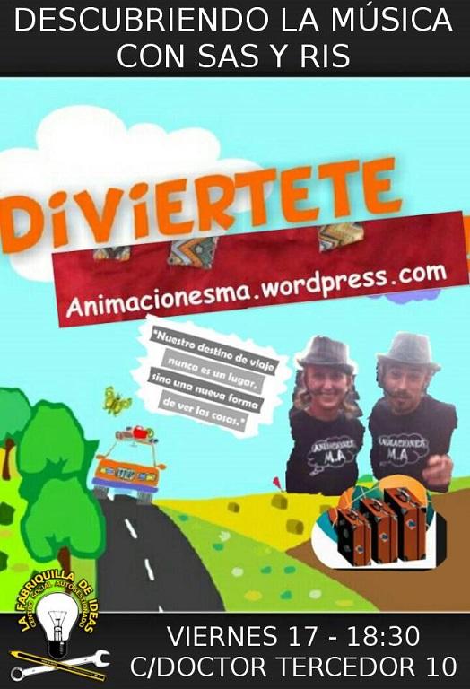 """Los Trotacuentos llegan a Motril. La Compañía de animación MA, presenta su obra """"Musiqueando"""""""